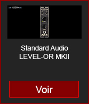 standard audio level or